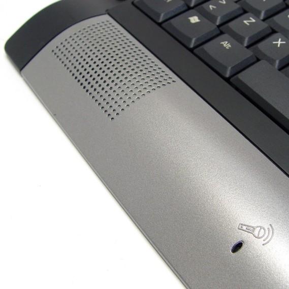 Teclado Perixx 203. Multimedia. USB. Rosa y Blanco.
