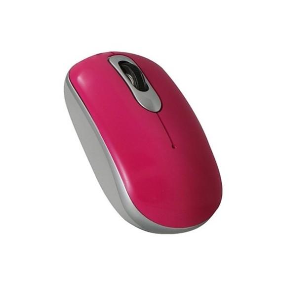 Ratón Láser Perixx 306. USB. Rojo y Plata.