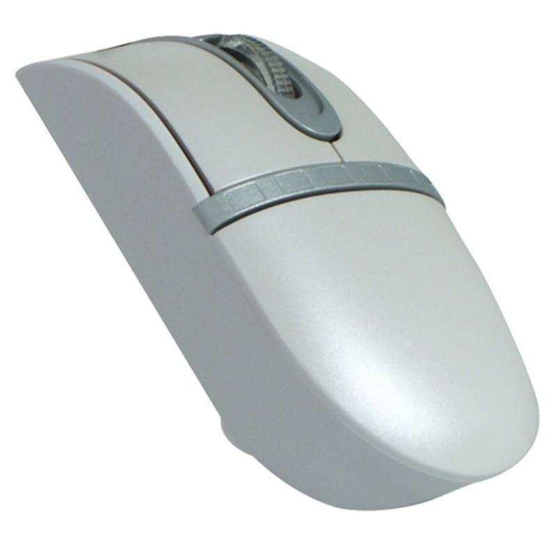 Ratón óptico Perixx 401. USB. Mini. Rosa/Plata