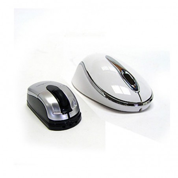 Ratón óptico Perixx 403. Mini. USB. Blanco Perla.