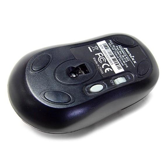 Ratón óptico Perixx 501. 2 en 1. Mini+Sobremesa.