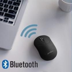 PERIMICE-802 . Ratón Bluetooth. Negro mate. Conectividad