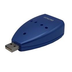 Hub USB 2.0 Azul 4 puertos