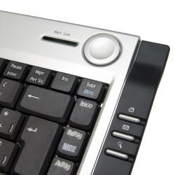 PERIBOARD-801 Teclado detalle teclas acceso rápido y Joystick