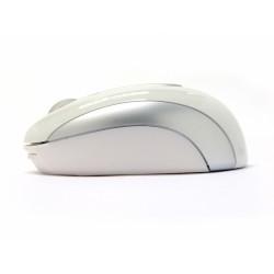 PERIMICE-306 Láser, Color Blanco y Plata Perfil