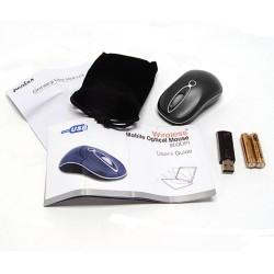 PERIMICE-602 Ratón Mini.  Wireless. Negro.  Contenido embalaje