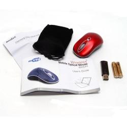 PERIMICE-602 Ratón Mini.  Wireless. Rojo.  Contenido embalaje