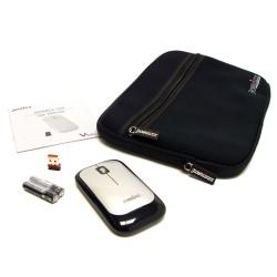 PERIMICE-704 Ratón wireless Negro.  Contenido embalaje