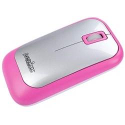 PERIMICE-706 Ratón wireless  Rosa y Plata