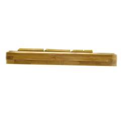 PERIDUO-301 Bambú. Detalle Teclado