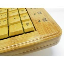 PERIDUO-301 Bambú. Detalle acabado Teclado