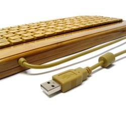 PERIDUO-301 Bambú. Detalle conexión Teclado