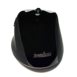 PERIMICE-707 Ratón Wireless. Negro brillo/mate. Detalle