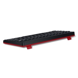 PERIDUO-712 Negro Piano. Wireless. Teclado detalle trasera.