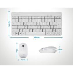 PERIDUO-712 Blanco. Wireless. Dimensiones