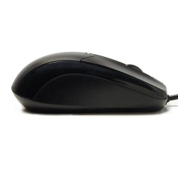 PERIDUO-206 Negro. Ratón vista perfil